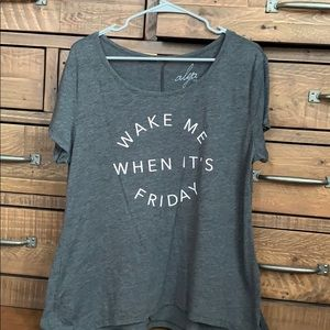 Wake Me Up When It's Friday Tee